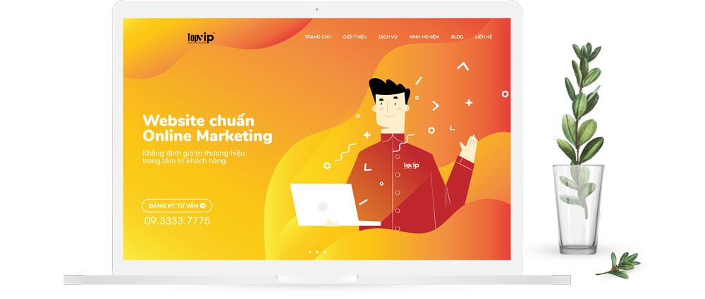Thiết kế website bán bán chuẩn SEO